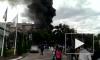 В Алма-Ате бензовоз врезался в магазин и загорелся