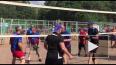 Видео: знаменитые волейболисты приехали на выходные ...
