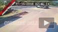 Видео момента ДТП: Джордж Клуни разбился на своем байке