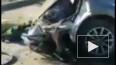 Видео из Москвы: В результате ДТП машину разорвало ...