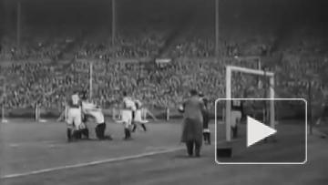 """Матч """"Эвертона"""" и """"Манчестер Сити"""" в 1933 году"""
