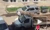 Появилось видео, как автолюбители в Омске сцепились в драке битой и доской