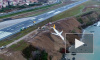 В сети появилось видео из салона самолета зависшего над морем в Турции