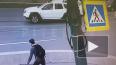 Видео: на Ушаковском мосту Nissan подмял под себя ...