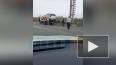 Видео: фургон устроил массовое ДТП на КАД