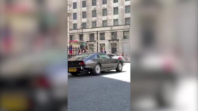 Видео: опубликованы первые кадры со съемок нового Джеймса Бонда