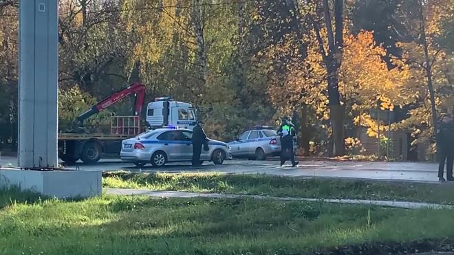 Столкновение автобуса и иномарки в Пушкинском районе закончилось гибелью женщины