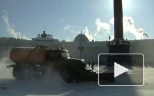 Опознанные летающие объекты. Митинг на Дворцовой площади.