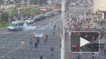 В Минске милиция открыла стрельбу резиновыми пулями на акции протеста