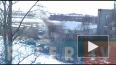 Видео: пожар на колбасном заводе в Петербурге потушили