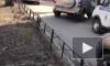 """У станции метро """"Автово"""" полиция и кинологи осматривают подозрительную """"ГАЗель"""""""