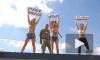 Активистки FEMEN провели очередную акцию на Евро