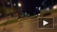 Видео: на проспекте Луначарского сбили мотоциклистку