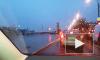 На Октябрьской набережной столкнулись КАМАЗ, микроавтобус и несколько легковушек