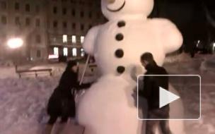 XXL-Снеговик