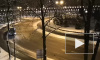 На Комсомольской площади по ночам гоняют дрифтеры