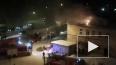Появилось видео горящего железнодорожного вокзала ...