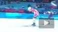 Российские лыжники Юлия Белорукова и Александр Большунов ...