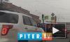 Видео: вКировском районе на полной скорости перевернулась машина