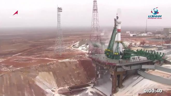 """С Байконура запустили первый спутник """"Арктика-М"""""""