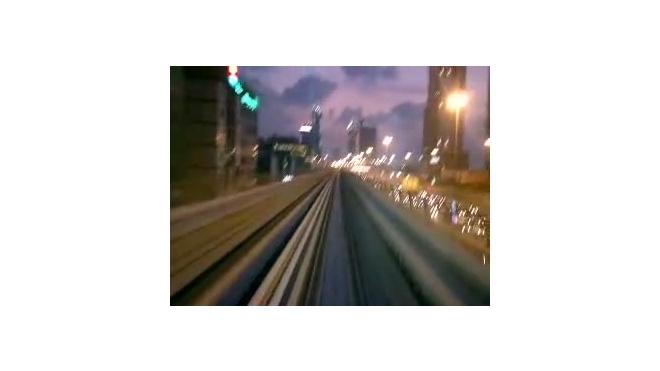 Путешествие по ночному Дубаи