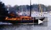 В яхт-клубе Петроградского района разгорелся пожар