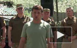 Зеленский рассказал о перемирии на Донбассе