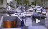 Видео: два автомобиля столкнулись на пересечении Седова и Ивановской