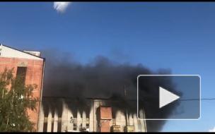 Один человек пострадал в результате пожара в здании на Складской улице