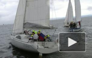Гонки на яхтах - за приз клуба Балтиец