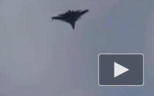 Появилось видео захода на посадку в Сирии СУ-57