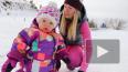 Самая маленькая годовалая сноубордистка восхитила ...