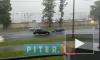 Видео: Петербург затопило летним дождем