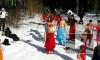 Восточные танцы на снегу