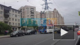 """У метро """"Звездная"""" мотоциклист въехал в автобус"""