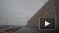 Видео: На набережной Макарова упавший с крана груз ...