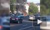 Видео: на Обуховской обороны дотла сгорел автобус