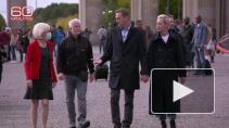 СМИ показали колонну полицейских, которые охраняют Навального в Германии