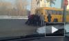 Школьникам из Перми пришлось самим толкать свой автобус