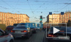 На Заневской площади на путях сломался трамвай
