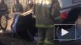 Видео: в Нижнем Новгороде легковушка улетела в кювет ...