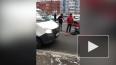 В Петербурге иномарка сбила женщину с тремя детьми