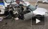 Появились жуткие кадры с места смертельной аварии в Омске