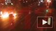 Опубликовано видео из Москвы с моментом ДТП, в котором ...