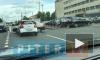 "Видео: на улице Седова столкнулись автомобили You Drive и ""Рено Логан"""