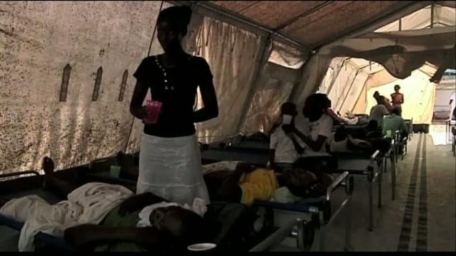 Эпидемия холеры в Гаити – 1100 погибших