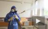 В Сербии российские специалисты продезинфицировали военный учебный центр