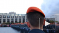Будущие пожарные принесли присягу на площади Победы ...