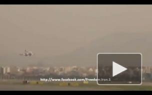 Иранский пилот спас 113 человек, мастерски посадив самолет без переднего шасси