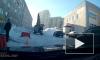 Беспредел экскаватора в Уфе попал на видео